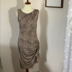 Betsy Johnson cheetah dress size 10